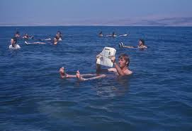 Float in Dead Sea